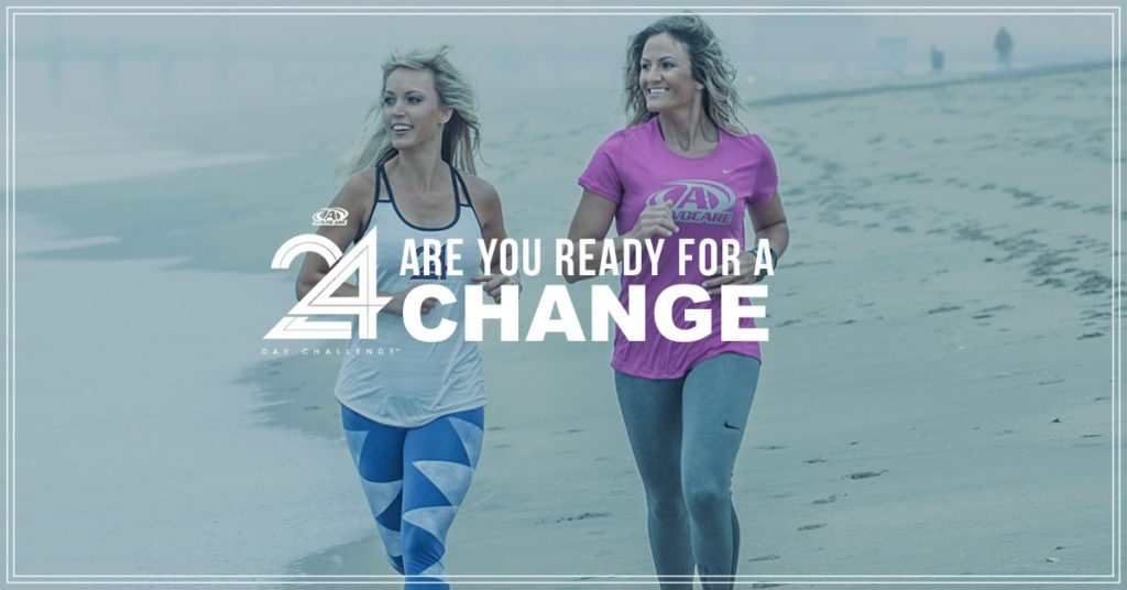 The 24-Day Challenge – give your body the jumpstart it needs to help you reach your goals