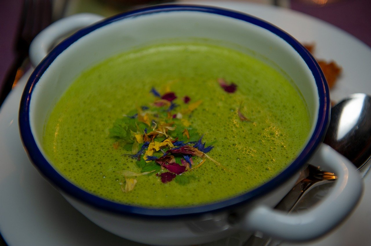 Low-Carb Spinach Soup