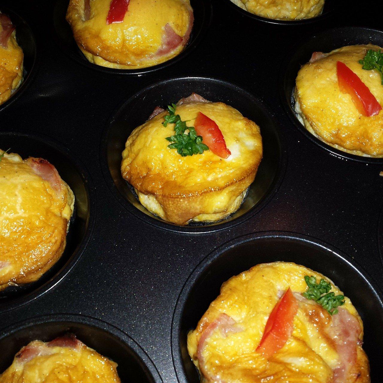 Breakfast Jalapeño Muffins