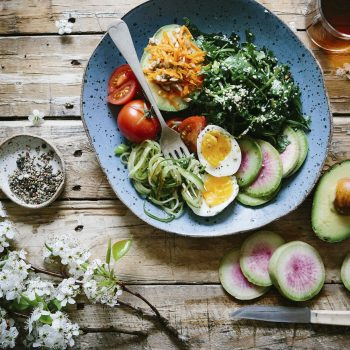 Keto Egg and Avocado Salad