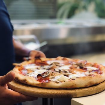 Keto Mushroom Pizza