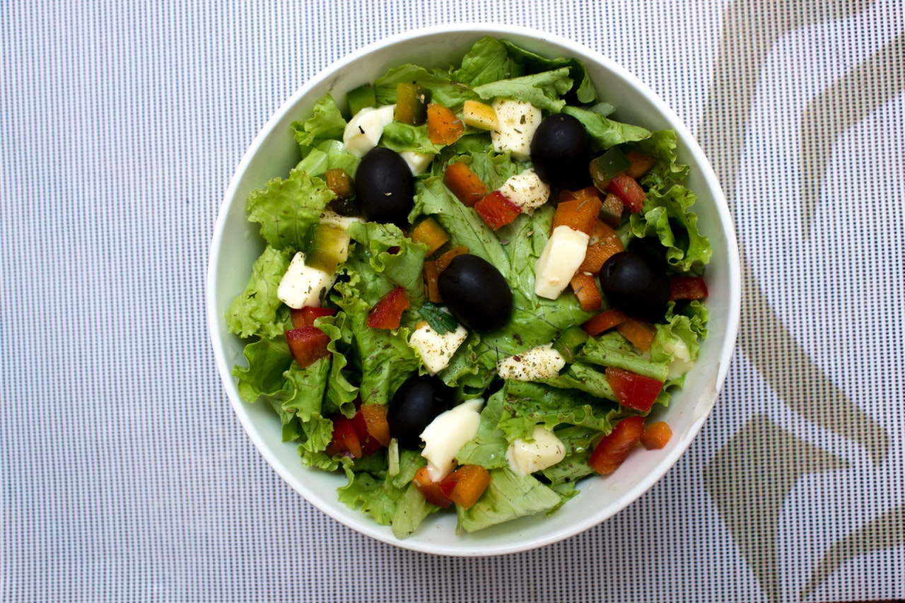Keto Spring Mix Salad Recipe With Blueberries