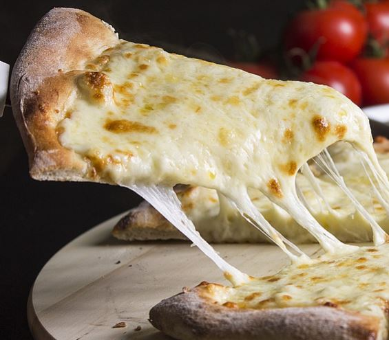 Homemade Extra Cheese Pizza
