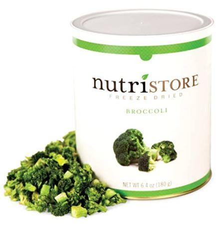 freeze dried broccoli: Nutristore Freeze Dried Broccoli